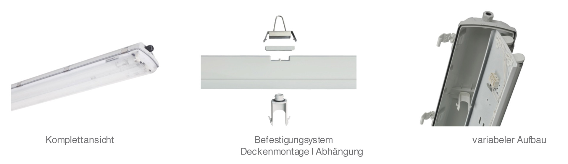 LED-Armatur Robust